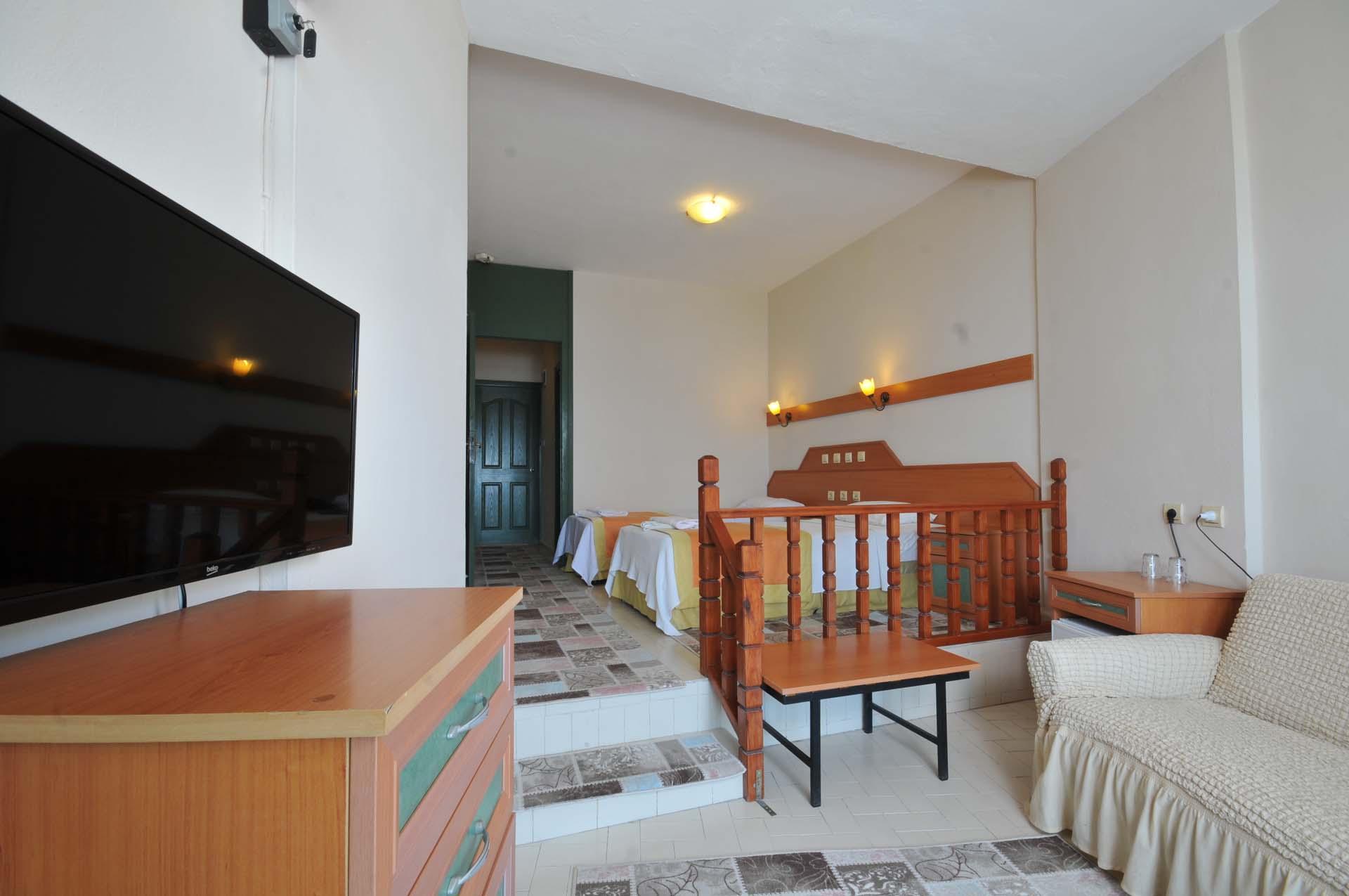 Letovanje Turska autobusom, Marmaris,Hotel Amos Marmaris izgled sobe