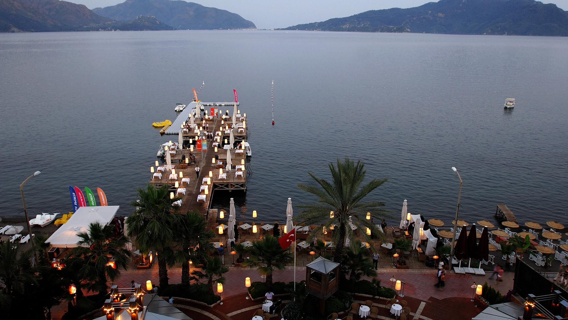 Letovanje Turska autobusom, Marmaris,Hotel Elegance Marmaris pogled na zaliv