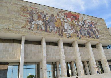 Putovanje u Albaniju, evropski gradovi, Tirana,muzej