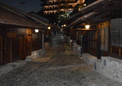 Putovanje Albanija, evropski gradovi, Kruja,stari market