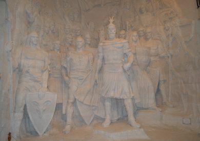 Putovanje Albanija, evropski gradovi, Kruja, muzej