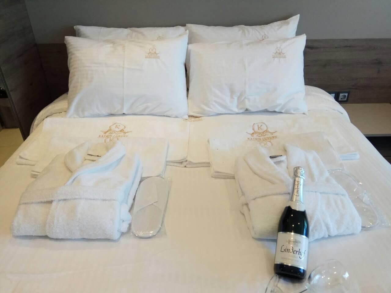 Grcka hoteli letovanje, Halkidiki, Nea Mudania,Katrin Luxury studios,soba