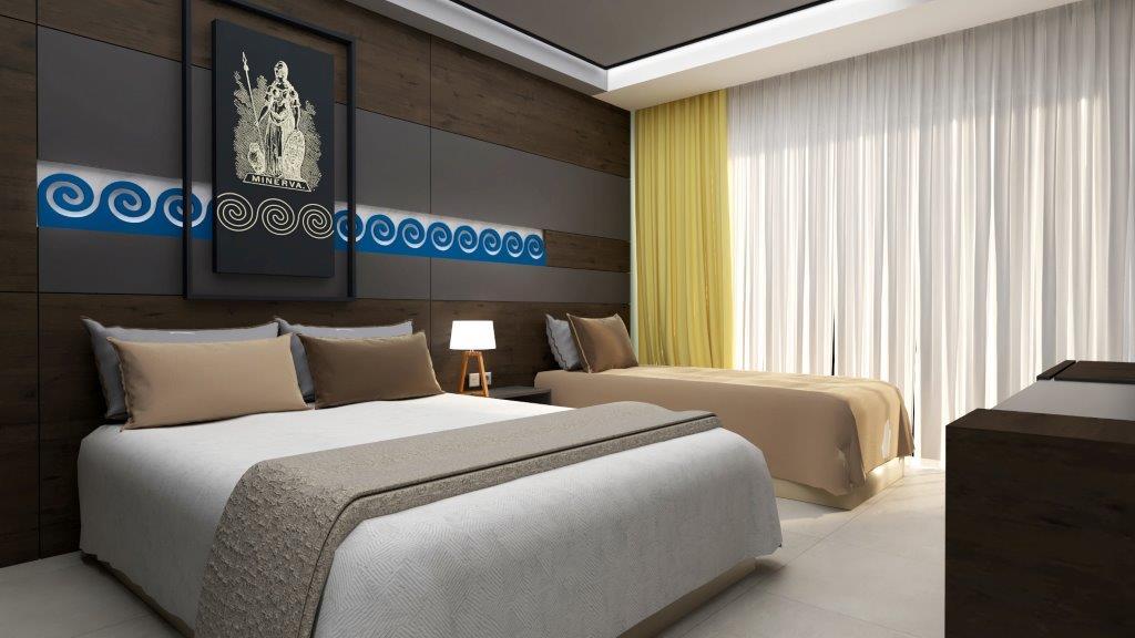 Grcka hoteli letovanje, Halkidiki, Nea Mudania,Katrin Luxury studios,studio izgled