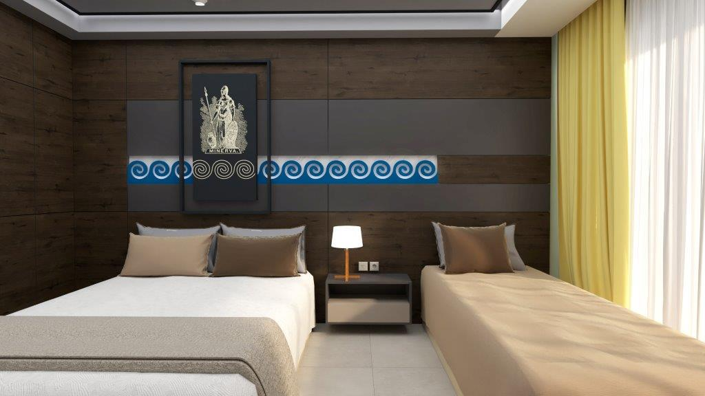 Grcka hoteli letovanje, Halkidiki, Nea Mudania,Katrin Luxury studios,izgled studija