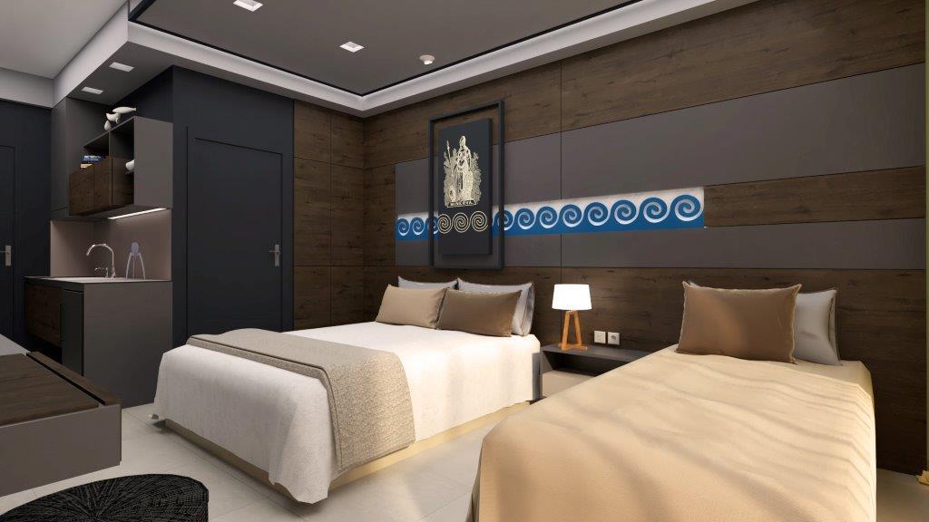 Grcka hoteli letovanje, Halkidiki, Nea Mudania,Katrin Luxury studios,studio