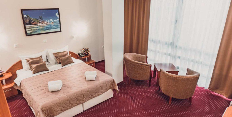 Putovanje Ohrid, evropski gradovi, hotel Aqualina, izgled sobe
