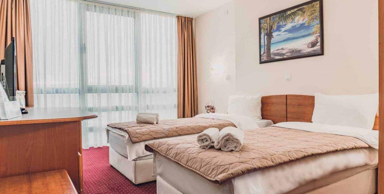 Putovanje Ohrid, evropski gradovi, hotel Aqualina, soba