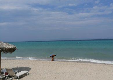 Polihrono Halkidiki Grcka apartmani, letovanje, naširi deo plaže