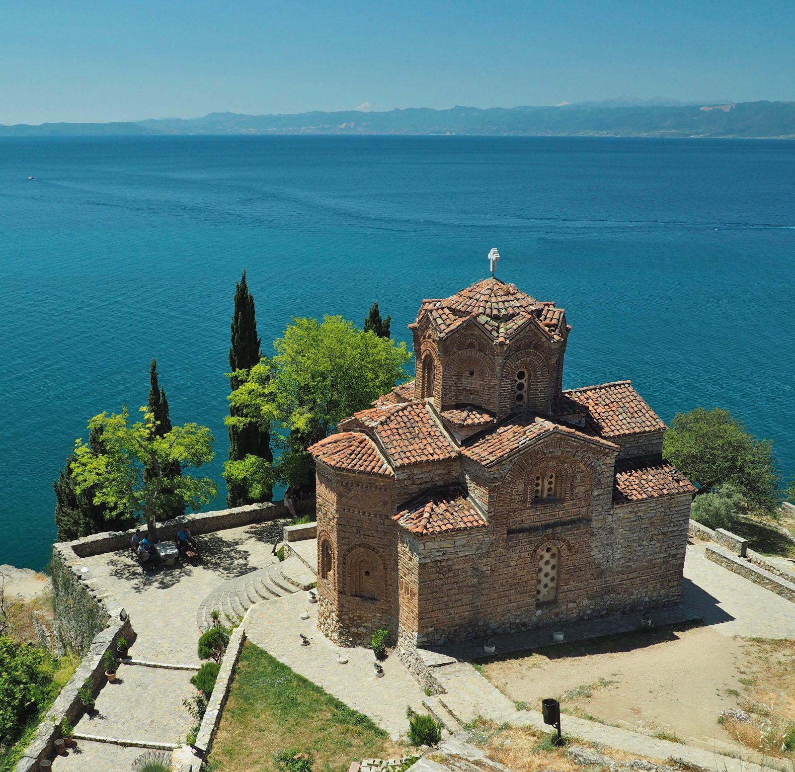Putovanje Ohrid, evropski gradovi, crkva Svetog Jovana