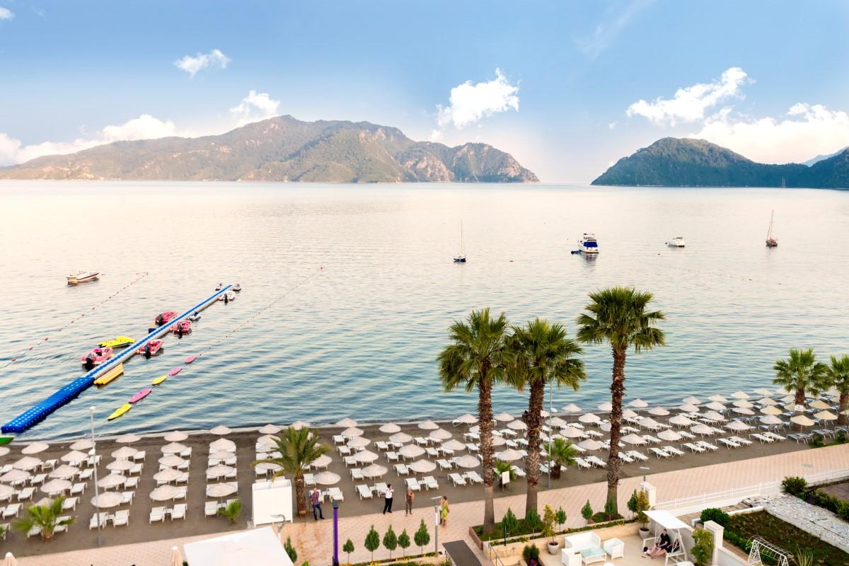 Letovanje Turska autobusom, Marmaris,Hotel Golden Rock Beach plaža