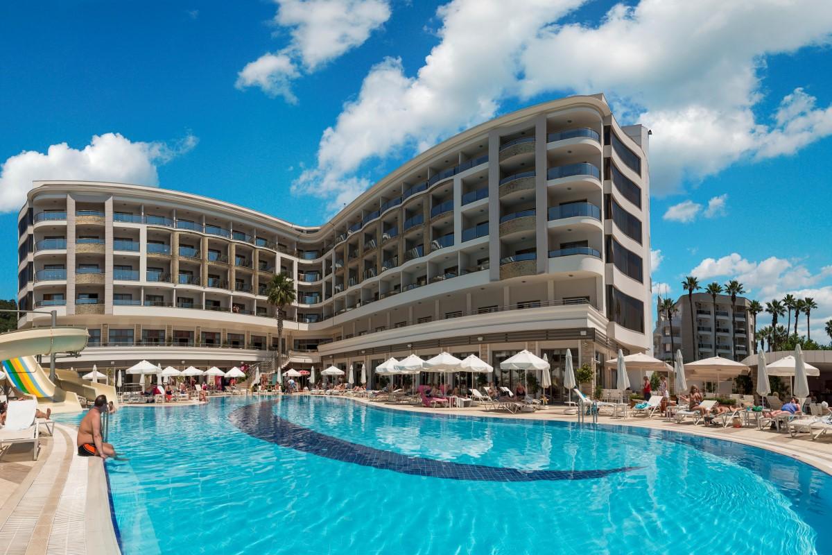 Letovanje Turska autobusom, Marmaris,Hotel Golden Rock Beach eksterijer
