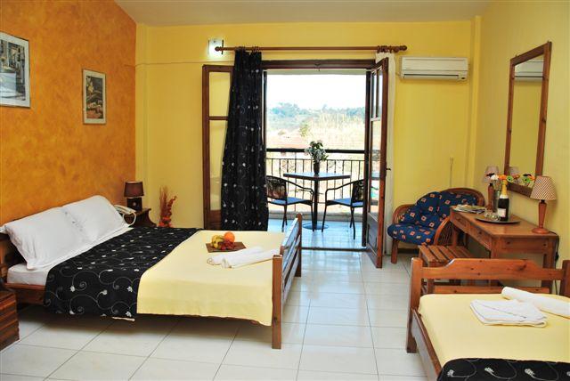 Grcka hoteli letovanje, Halkidiki, Siviri,Jenny,soba izgled