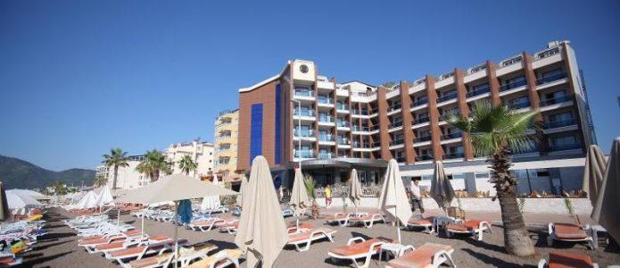 Letovanje Turska autobusom, Marmaris,Hotel Mehatp Beach Marmaris eksterijer