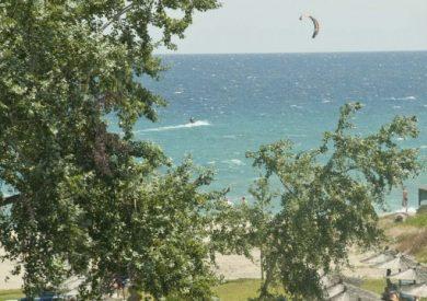 Grcka hoteli letovanje, Platamon, Sun Beach, pogled na plazu