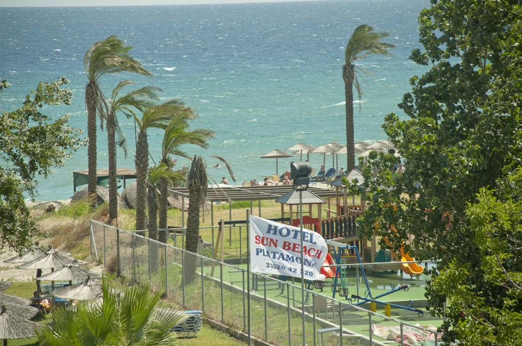 Grcka hoteli letovanje, Platamon, Sun Beach, plaza