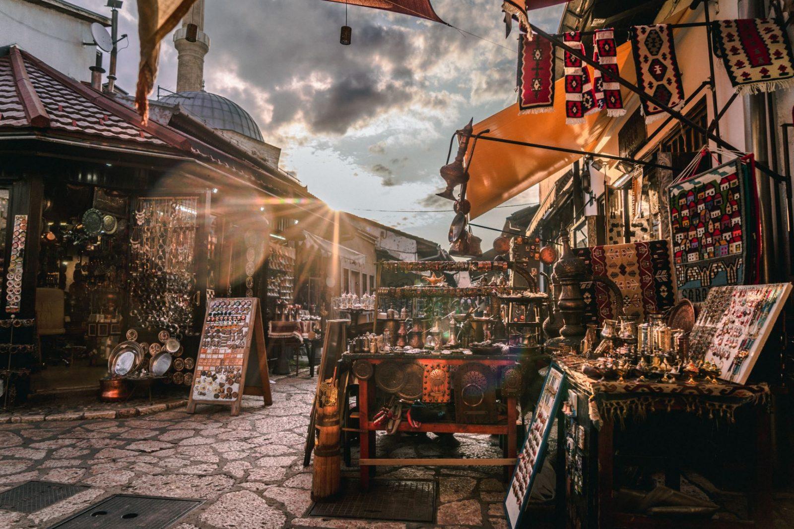 Putovanje Sarajevo, evropski gradovi, city break, Baš čaršija