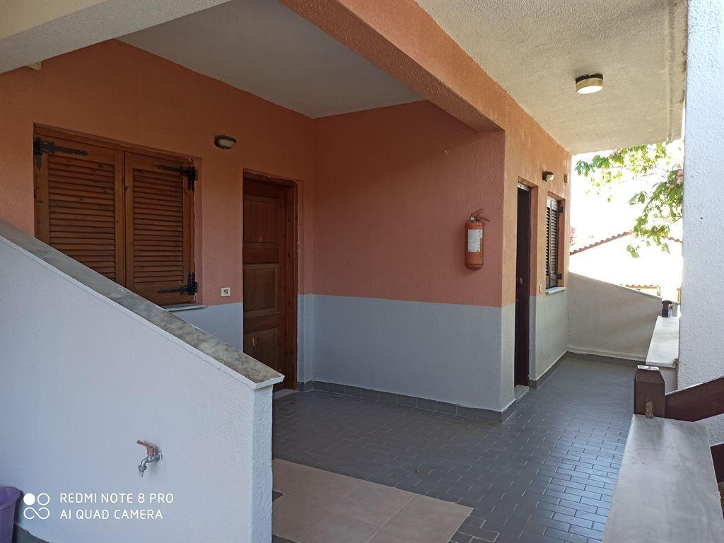 Grcka hoteli letovanje, Halkidiki, Siviri,Vila Sirtaki,hotelska terasa