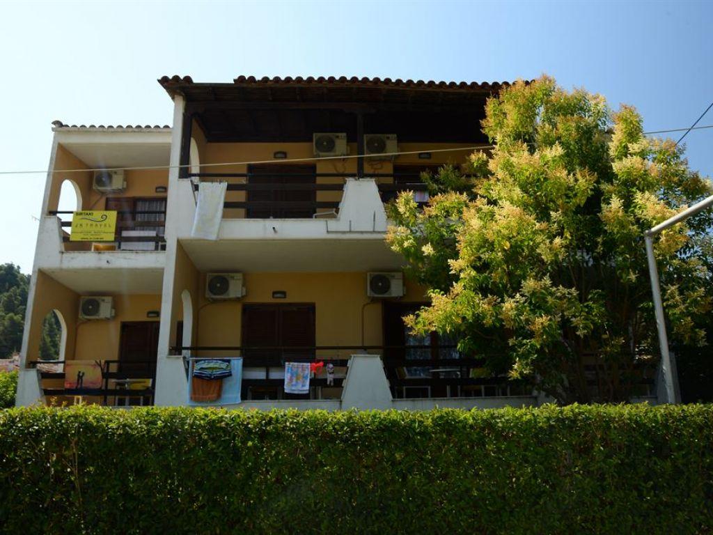 Grcka hoteli letovanje, Halkidiki, Siviri,Vila Sirtaki,spolja