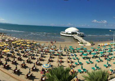 Letovanje Drač Albanija, leto Drac, centralna plaža
