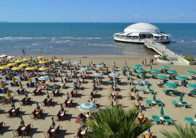 Letovanje Drač Albanija, leto Drac, plaža2