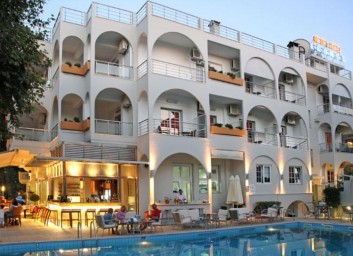 Grcka hoteli letovanje, Platamon, hotel Kronos,eksterijer