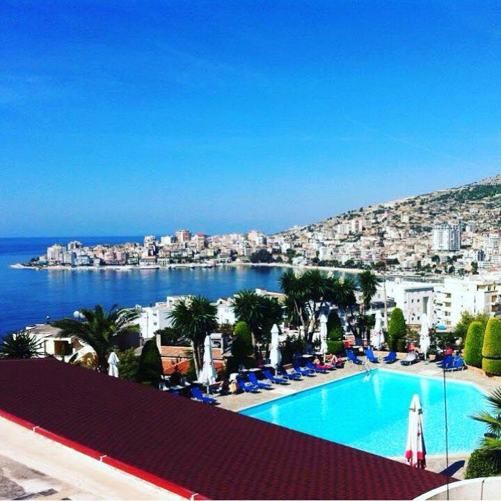 Letovanje Albanija autobusom, Saranda, hotel Mediterrane,panoramski pogled