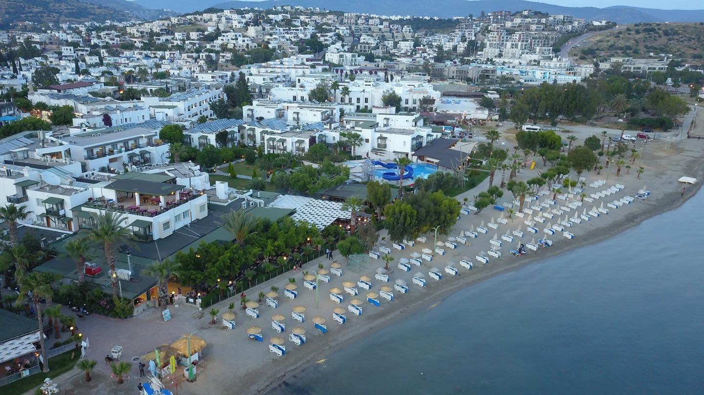 Letovanje Turska autobusom, Bodrum,Hotel eksterijer