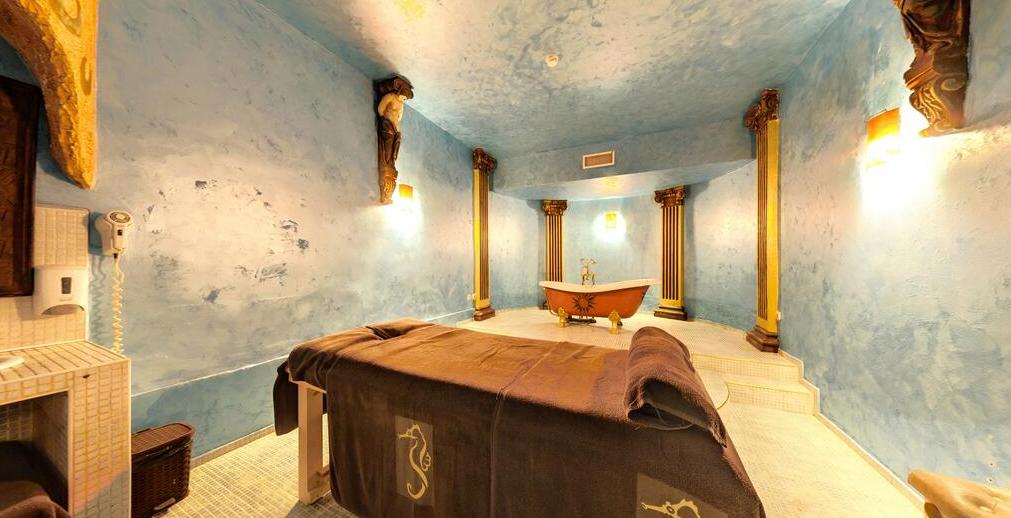 Letovanje Bugarska autobusom, Sunčev breg, Hotel Imperial Palace, prostorija za masažu