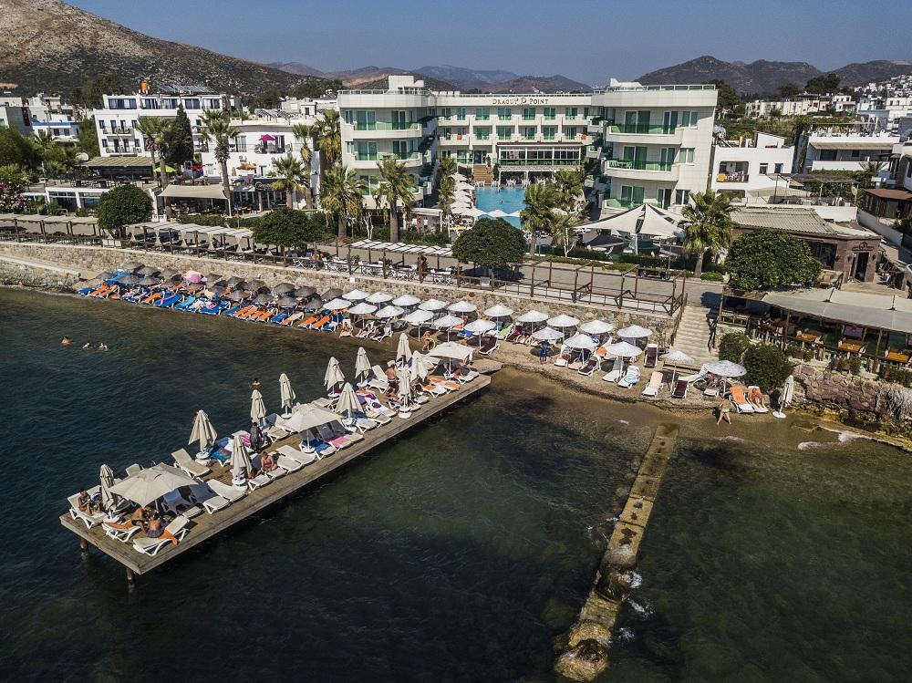 Letovanje Turska autobusom, Bodrum,Hotel Dragut point south,eksterijer