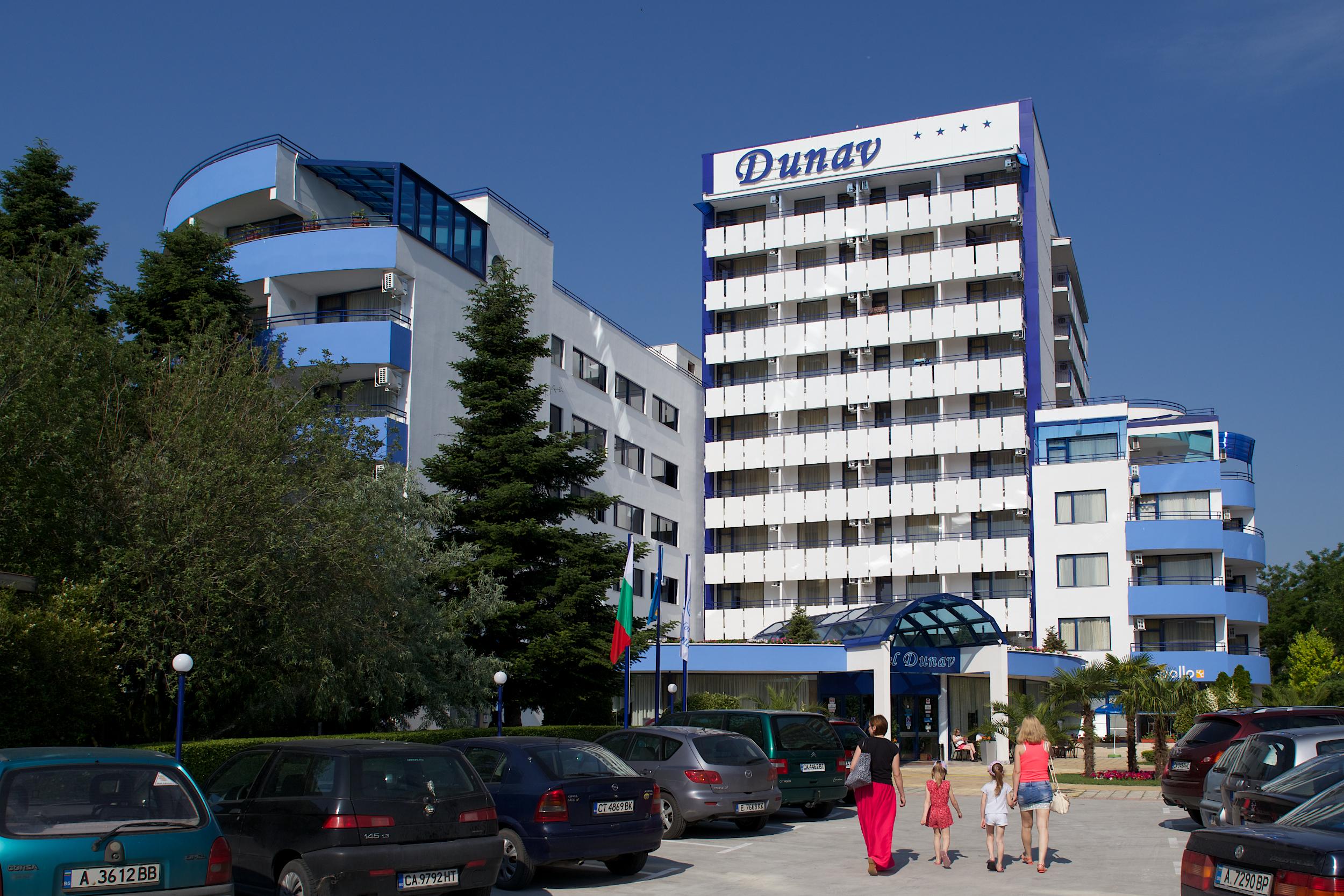 Letovanje Bugarska autobusom, Sunčev breg, Hotel Dunav, eksterijer