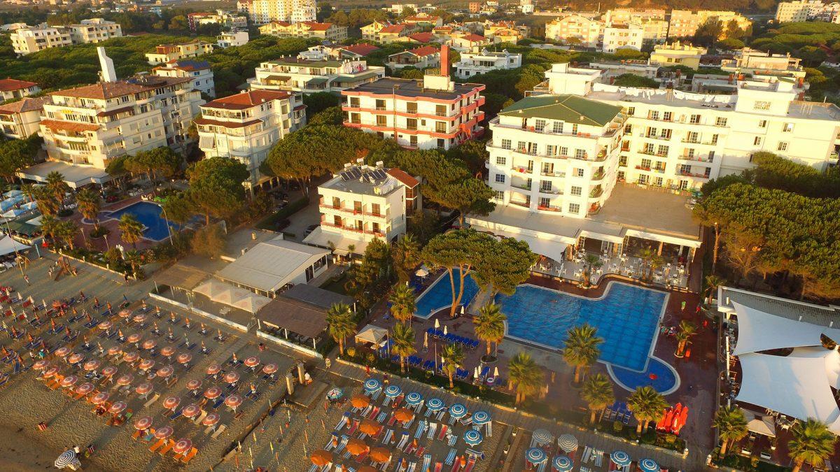 Letovanje Albanija autobusom, Drač, Hotel Fafa Premium, panorama