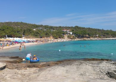 Grčka letovanje apartmani, Tasos, Potos, Pefkari, plaža Psili Ammos
