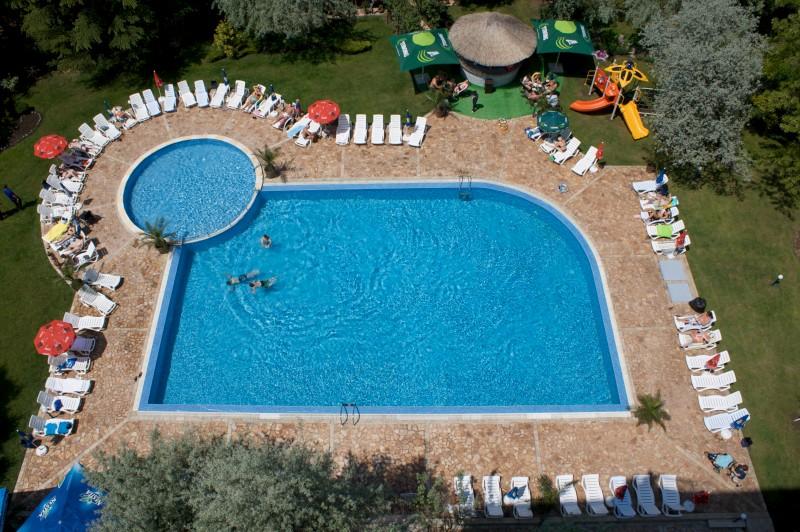 Letovanje Bugarska autobusom, Sunčev breg, Hotel Dunav, bazen