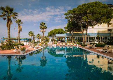 Letovanje Albanija autobusom, Drač, Hotel Fafa Premium, bazen