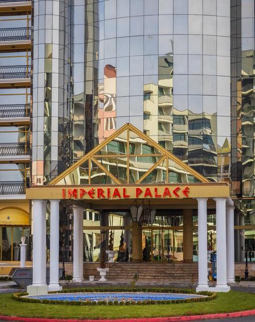 Letovanje Bugarska autobusom, Sunčev breg, Hotel Imperial Palace, ulaz