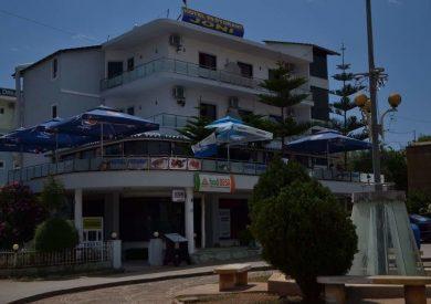 Letovanje Albanija hoteli, Ksamil, autobus, Hotel Joni, eksterijer,