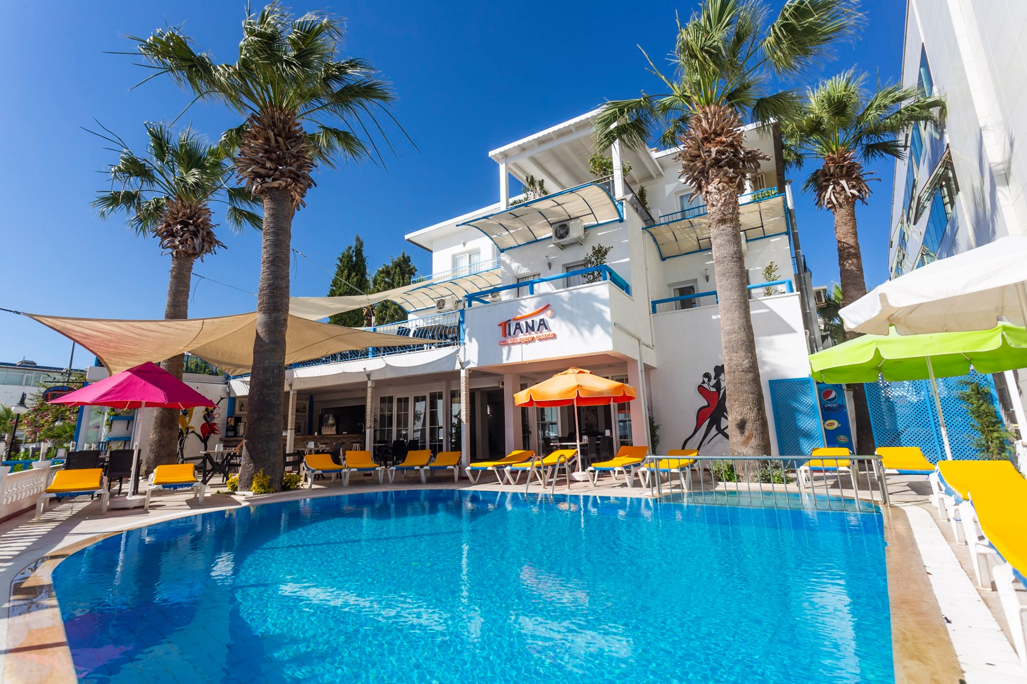 Letovanje Turska autobusom, Bodrum, Hotel Tiana Moonlight,eksterijer