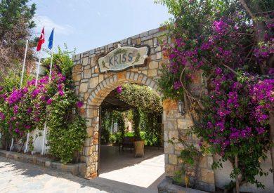 Letovanje Turska autobusom, Bodrum, Hotel Kriss,eskterijer
