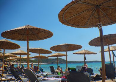 Gčka letovanje apartmani, Tasos, Potos, plaža u Potosu