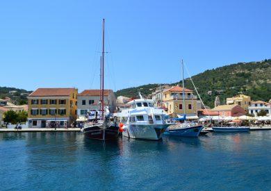 Paksos - Gaios, jonska obala apartmani, leto Grčka