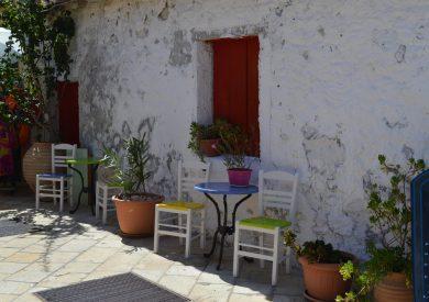 Paksos - Gaios - simpatični kafić, jonska obala apartmani, leto Grčka