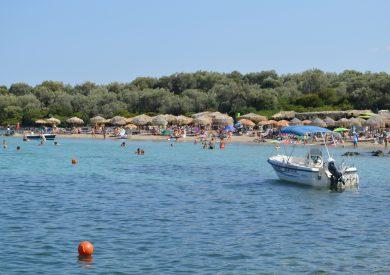 Lihadonisia plaža, Evija apartmani, letovanje Pefki Grcka