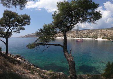Grčka letovanje apartmani, Tasos, Potos, Aliki plaža