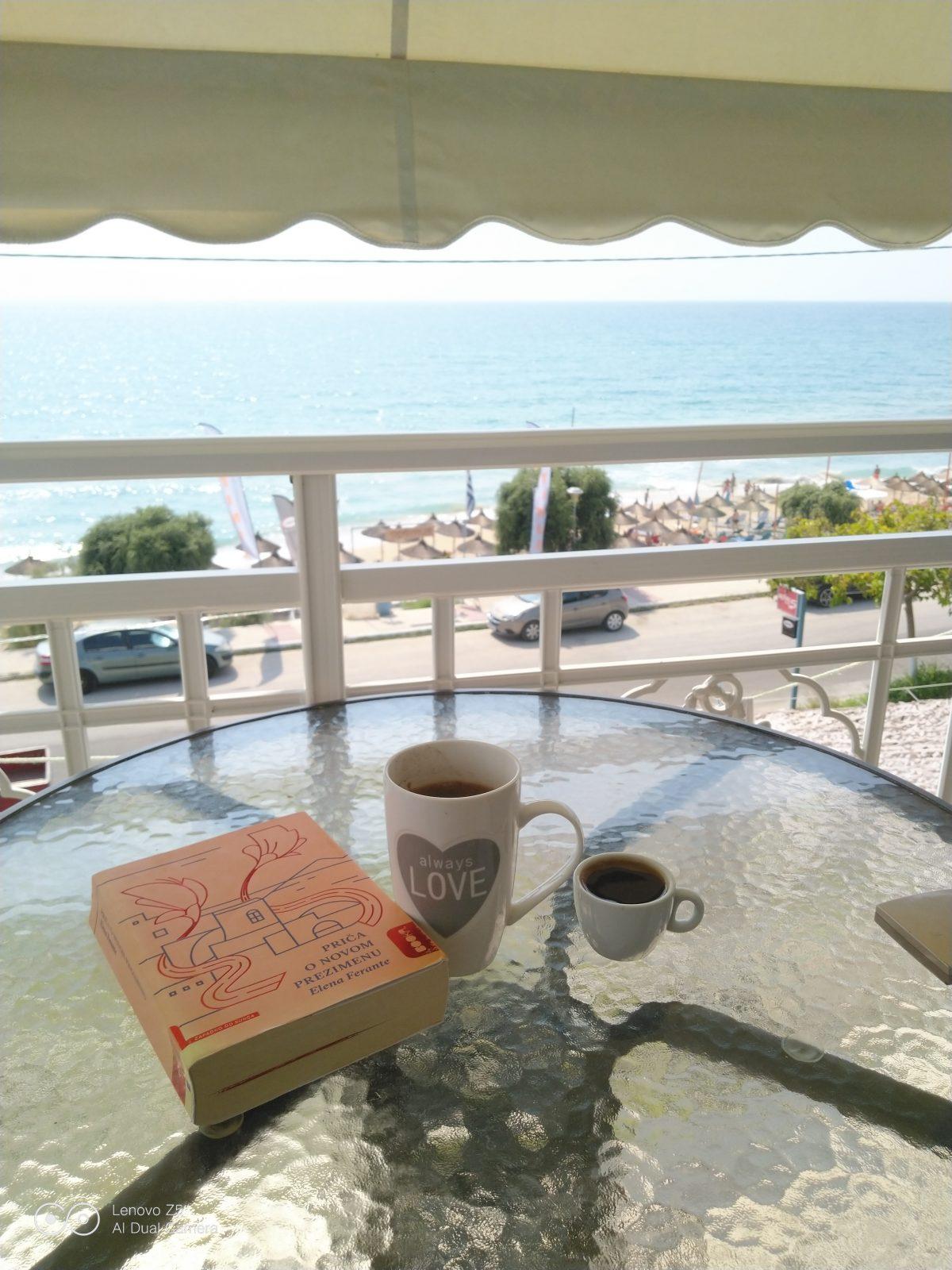 Vrahos apartmani letovanje grcka, pogled sa balkona