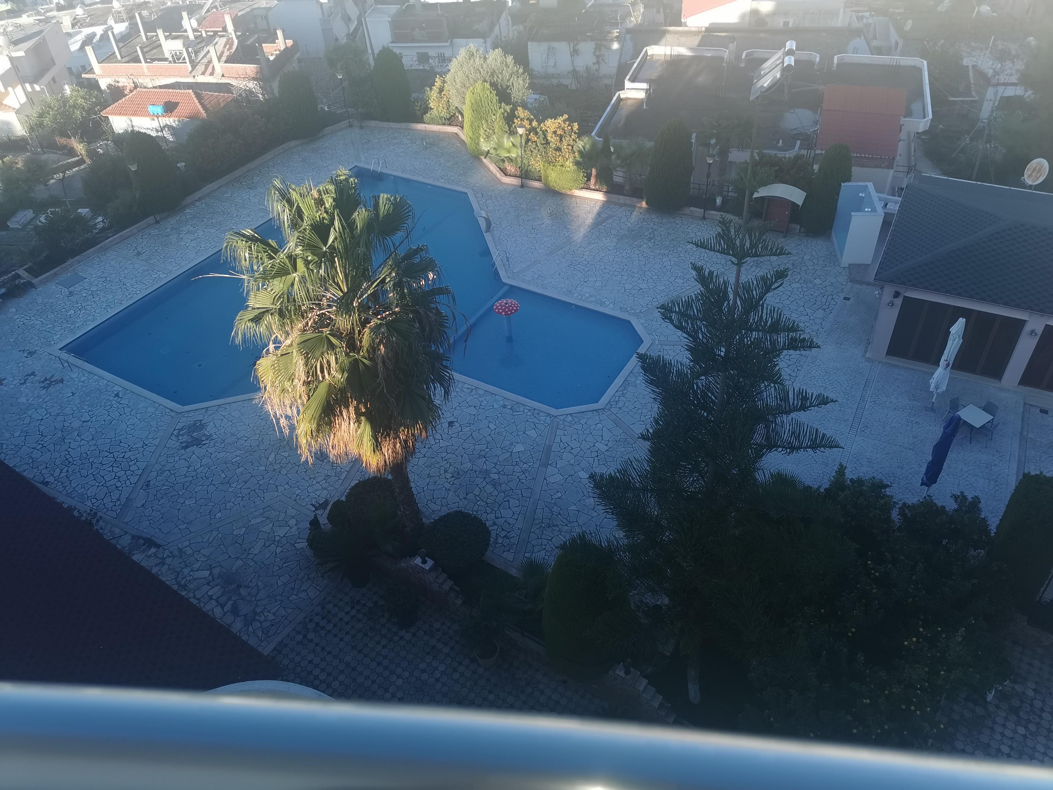 Letovanje Albanija autobusom, Saranda, hotel Mediterrane,pogled na bazen