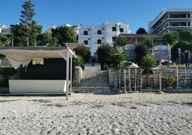 Letovanje Albanija hoteli, Saranda, autobus, Hotel Perla, pogled sa mora