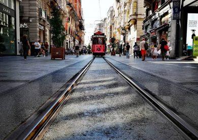 Evropski gradovi, Istanbul putovanje, Istiklal ulica