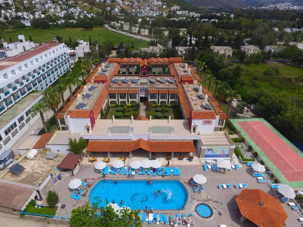 Letovanje Turska autobusom, Bodrum, Hotel Tiana Beach,eksterijer