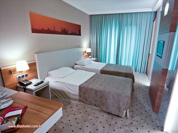Putovanje Istanbul, evropski gradovi, hotel Klas,soba