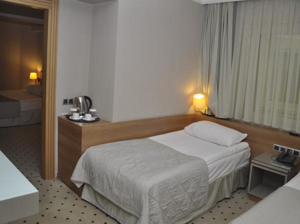 Putovanje Istanbul, evropski gradovi, hotel Klas, izgled hotelske sobe